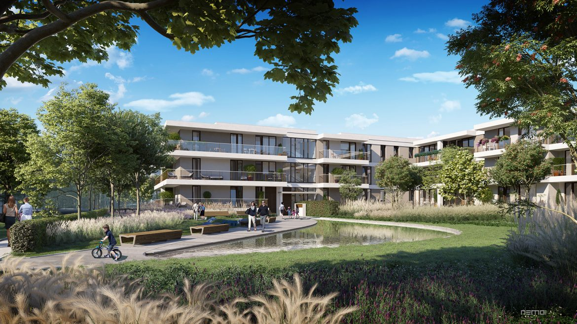 The construction of Yareal apartments in Mokotów begins